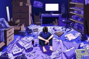 ragazzo-in-una-stanza-blu